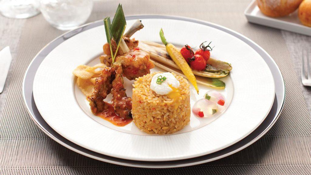 ข้าวผัด กรุงเทพ (Nasi goring Bangkok)
