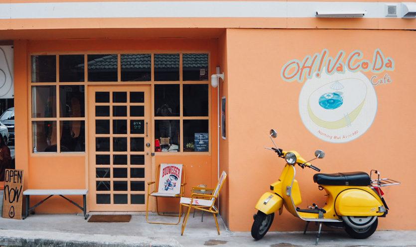 ร้านคาเฟ่ Oh Vacoda Café