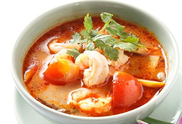 เมนู ต้มยำกุ้ง รสเด็ดจัดจ้านอาหารไทยดังไกลไปถึงทั่วโลก