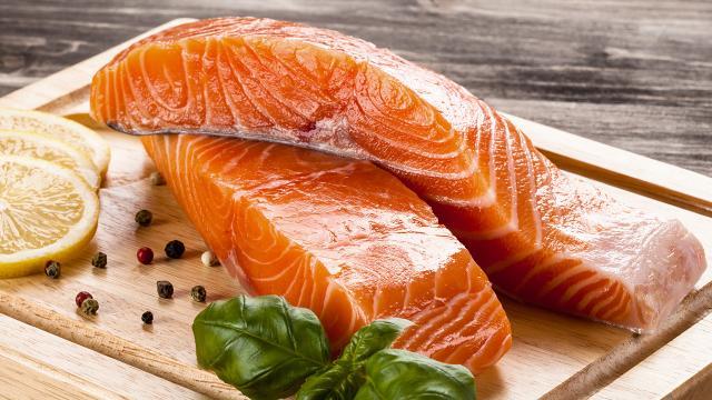 อาหารบำรุงหัวใจ-ปลาแซลมอน