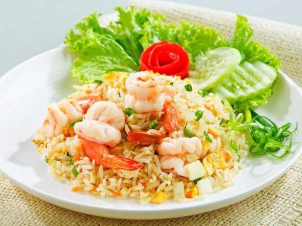 ข้าวผัดกุ้ง เมนูที่ฮิตและแผ่หลายกันทั่วประเทศเป็นอาหารที่ยอดนิยม