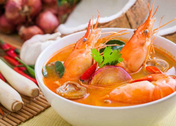 เมนู ต้มยำกุ้ง รสเด็ดจัดจ้านอาหารไทยดังไกลไปถึงทั่วโลก เมนูที่อยู่กับคนไทยมาช้านาน
