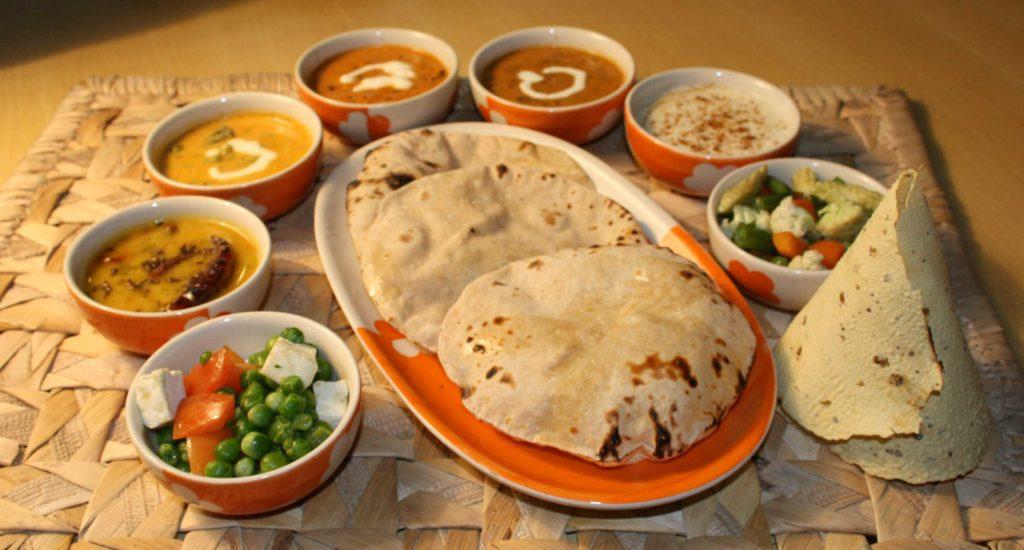 าหารอินเดีย ก็เป็นอาหารประจำชาติ