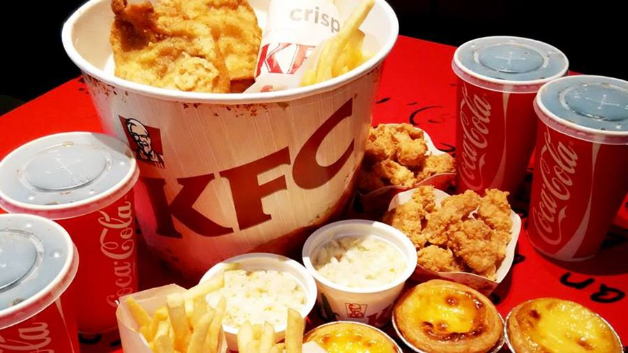 อาหารฟาสฟู้ด-ร้านไก่ทอดรูปแบบอเมริกัน