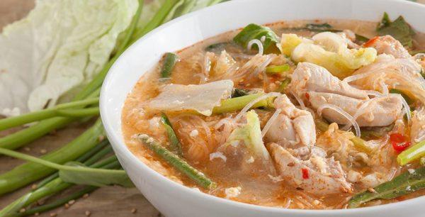 เมนู สุกี้ไก่ อาหารจานเดียวที่อร่อยอิ่มคุ้มสุดแถมยังได้ประโยชน์ต่อสุขภาพ