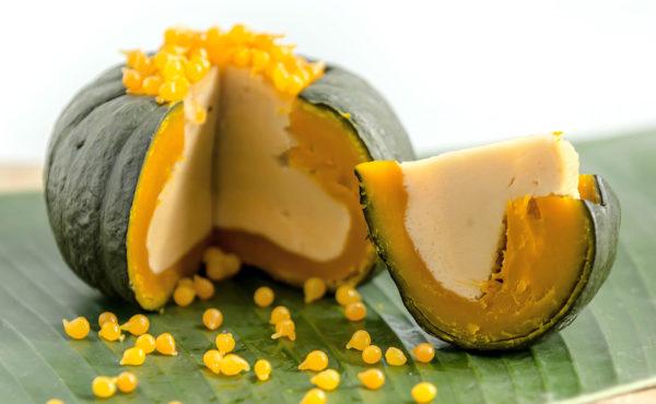 สังขยาฟักทอง ขนมไทยโบราณ รสชาติหวานมันทำทานเองได้ไม่ยาก…