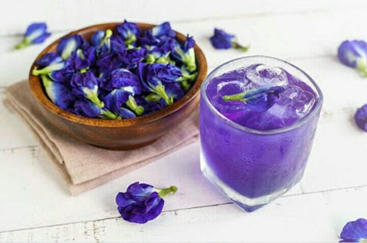 เมนูอาหารจากสีของดอกไม้