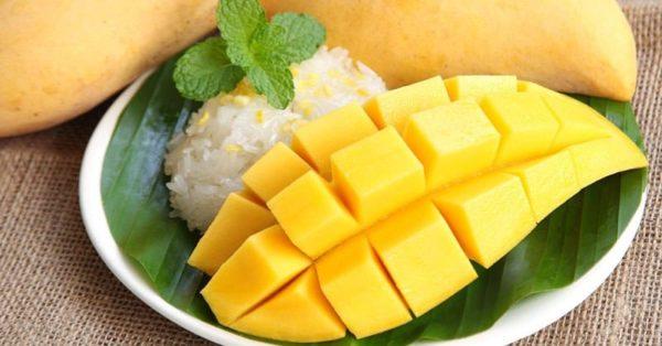 ข้าวเหนียวมะม่วง ขนมไทยยอดนิยมของคนไทยกินแล้วฟินอร่อยที่สุดในสามโลก
