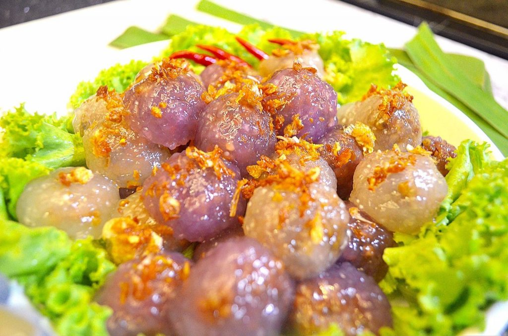 วิธีการทำ สาคูไส้หมู แสนอร่อย