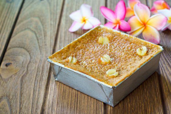 ขนมหม้อแกง รสชาติที่หวานมัน เมนูขนมไทยแสนอร่อยที่ใครๆก็ชอบทาน