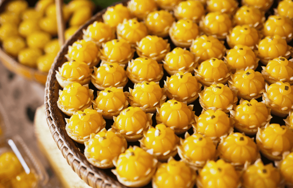 ขนมมงคล  5 อย่างที่เหมาะสำหรับให้เป็นของขวัญอวยพรในเทศกาลปีใหม่