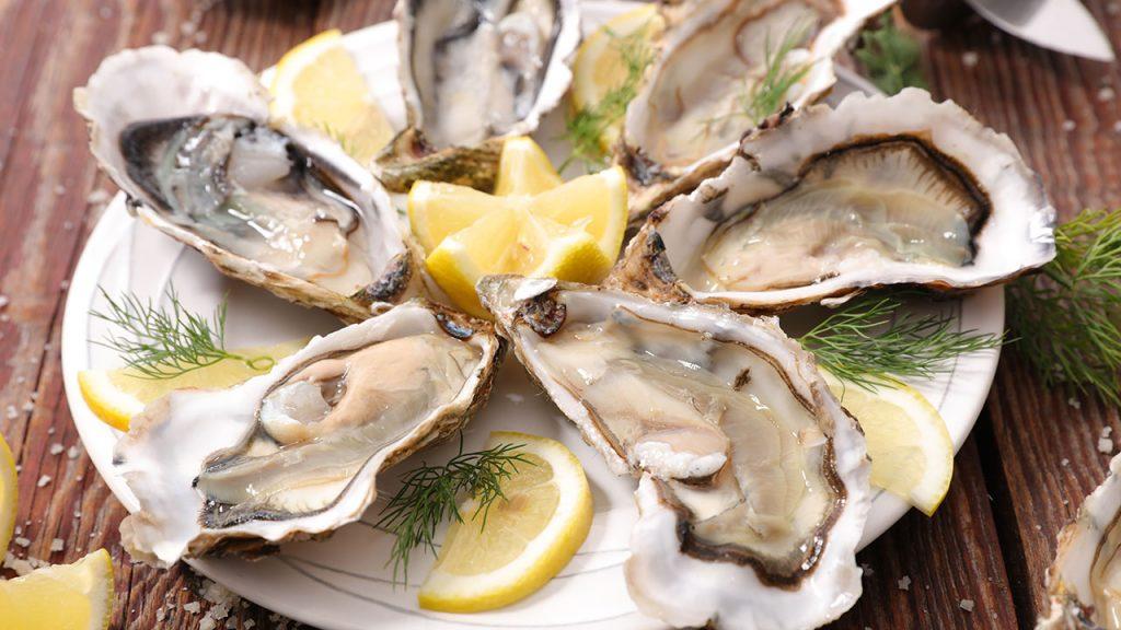 Vitamin B12 หอยนางรม